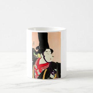 Cool Oriental Japanese Sanbaso tattoo Basic White Mug