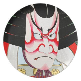 Cool Oriental Japanese Shibaraki tattoo Plates