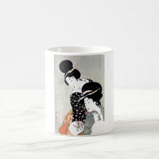 Cool Oriental Japanese Traditional Geisha art Mugs