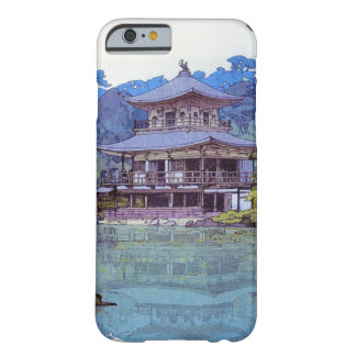 Cool oriental japanese watercolour temple painting barely there iPhone 6 case