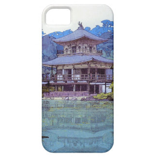 Cool oriental japanese watercolour temple painting iPhone 5 cover