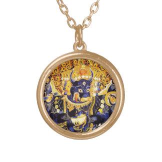 Cool oriental tangka Yamantaka death god tattoo Custom Jewelry