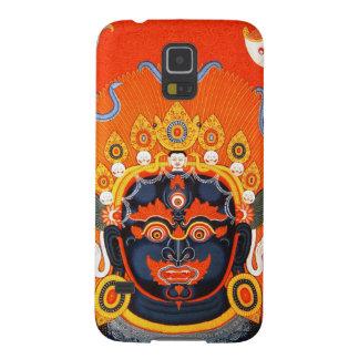 Cool oriental tibetan thangka Bhairava tattoo art Galaxy S5 Cases