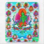 Cool oriental tibetan thangka god tattoo art mouse pads