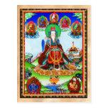 Cool oriental tibetan thangka Golden Mother Postcard