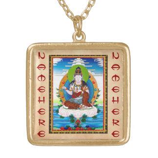 Cool oriental tibetan thangka Mahacakravajra Pendant
