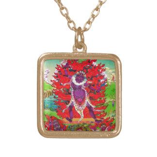 Cool oriental tibetan thangka tattoo Ekajati art Custom Jewelry