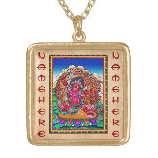 Cool oriental tibetan thangka tattoo Hayagriva Pendant
