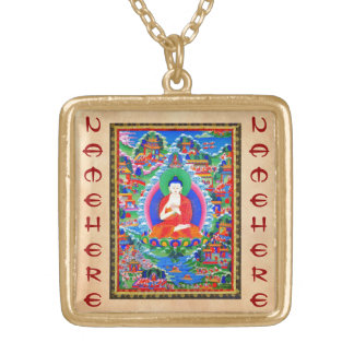 Cool oriental tibetan thangka tattoo Mahavairocana Pendant
