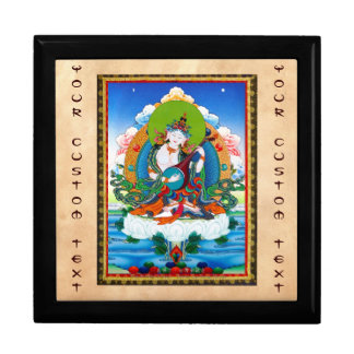 Cool oriental tibetan thangka tattoo Saraswati Gift Box