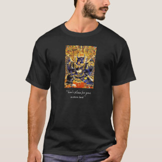 Cool oriental tibetan thangka Yamantaka tattoo T-Shirt