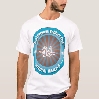 Cool Origami Folders Club T-Shirt