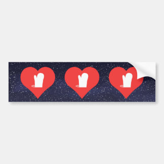 Cool Oven Mitts Picto Bumper Sticker