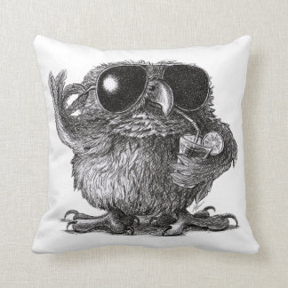 Cool Owl for Cool Persons Cushion