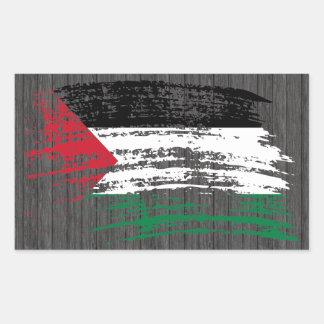 Cool Palestinian flag design Rectangular Sticker