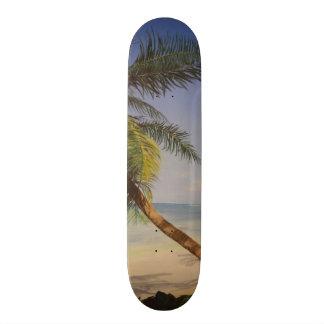 Cool Palm Tree 19.7 Cm Skateboard Deck
