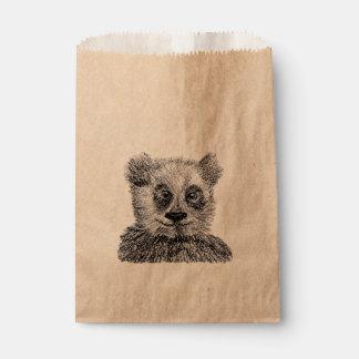 Cool Panda Custom Kraft Favor Bag Favour Bags
