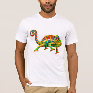 Cool Panther Chameleon T-Shirt