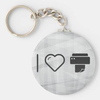 Cool Paper Printer Key Ring