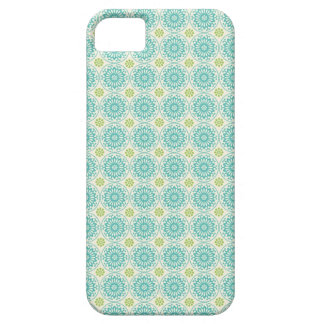 Cool Pastel Blue Retro Circle Pattern Easter iPhone 5 Covers