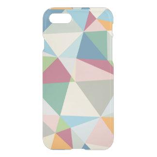 Cool Pastel Colors Geometric Pattern iPhone 7 Case