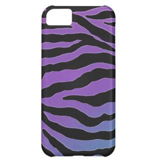 Cool Pastel Glitter Zebra Skins iPhone 5C Case