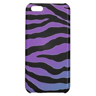 Cool Pastel Glitter Zebra Skins iPhone 5C Cover