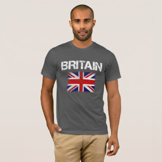 Cool Patriotic Britain Union Jack T-Shirt