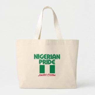 cool patriotic Nigerian designs Jumbo Tote Bag