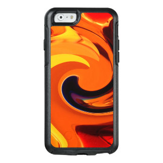 Cool Pattern Abstract Color Rings Poster OtterBox iPhone 6/6s Case