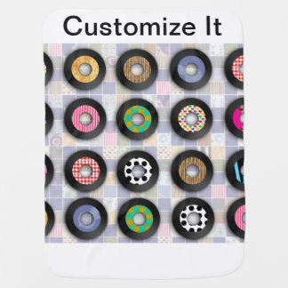 Cool Patterned 45s Swaddle Blankets