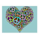 Cool Peace Love Heart