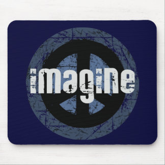 Cool Peace Mouse Pad
