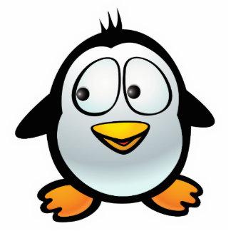 Cool Penguin Photo Sculpture Magnet