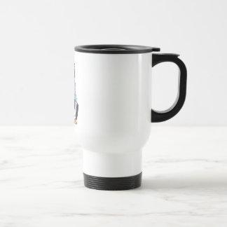 Cool Penguin Stainless Steel Travel Mug