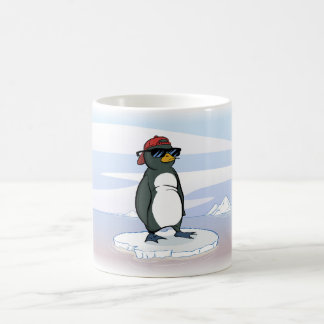 Cool Penguin Wearing Sunglasses Coffee Mug