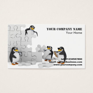 Cool Penguins Business Cards