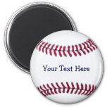 Cool Personalised Baseball Refrigerator Magnets