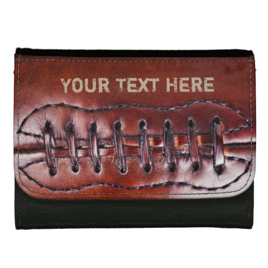 Cool Personalised Vintage Football Wallets