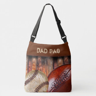 Cool Personalized Dad Diaper Bag, Sports Stuff Bag