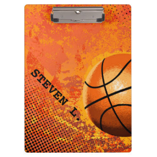 COOL Personalized Gifts Ideas for Basketball COACH Clipboard