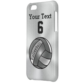 Cool Personalized iPhone 5C Volleyball Cases