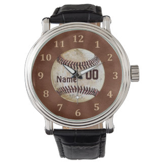 Cool Personalized Vintage Baseball Watches for Men
