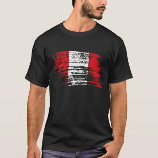 Cool Peruvian flag design T-Shirt