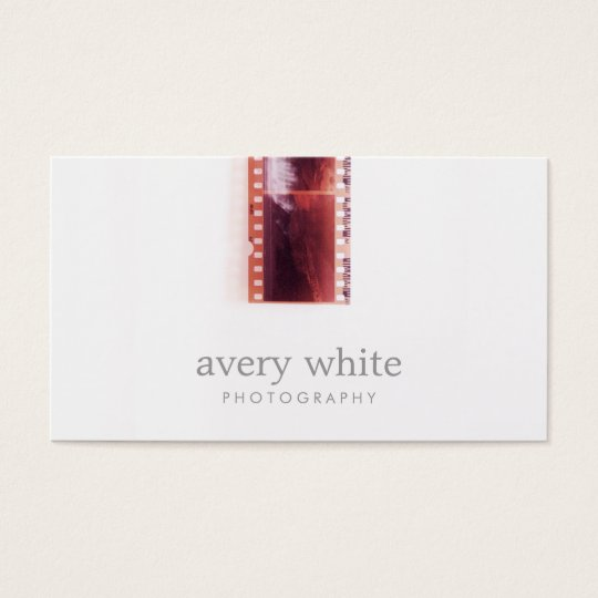 Cool Photographer Vintage Photo Film Simple White Business