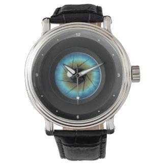 Cool Photography Blue Eye Camera Lens Photographer Wristwatch