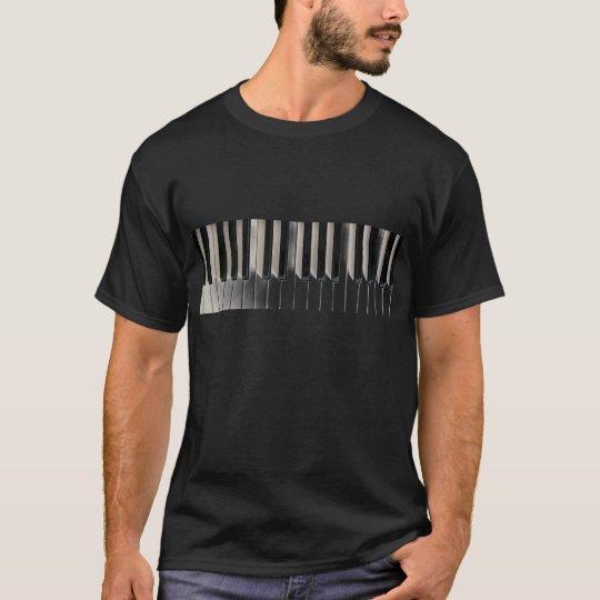 cool pianist keyboard piano music T-Shirt