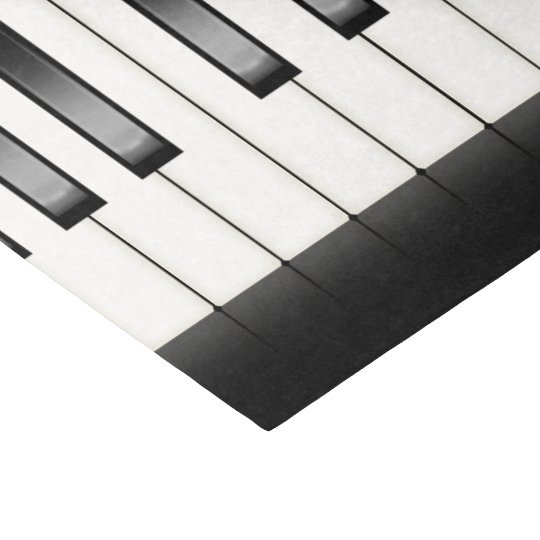 Cool piano music lovers party tissue tissue paper