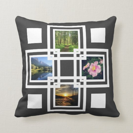 Cool Pics Stacked Geometric Squares Any Colour Cushion