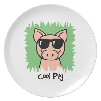 Cool Pig Plate